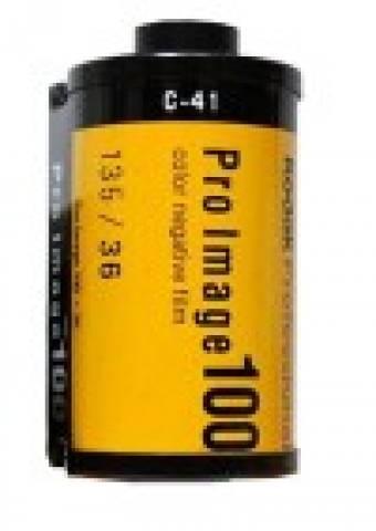 Filme fotográfico 35mm Kodak Pro Image 100