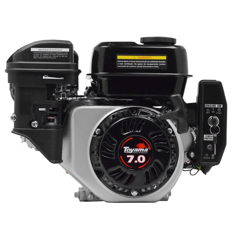 Motor TOYAMA 7HP 4T eixo 3/4