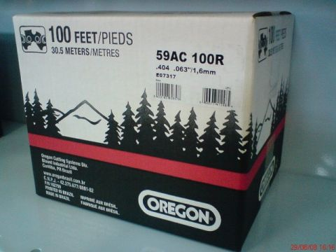 OREGON 59AC 743dentes  404'  1,6mm