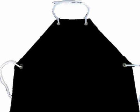 Avental pvc com forro 120X70 cm preto TECMATER, EM PROMOÇÃO! - Hs Floresta e Jardim