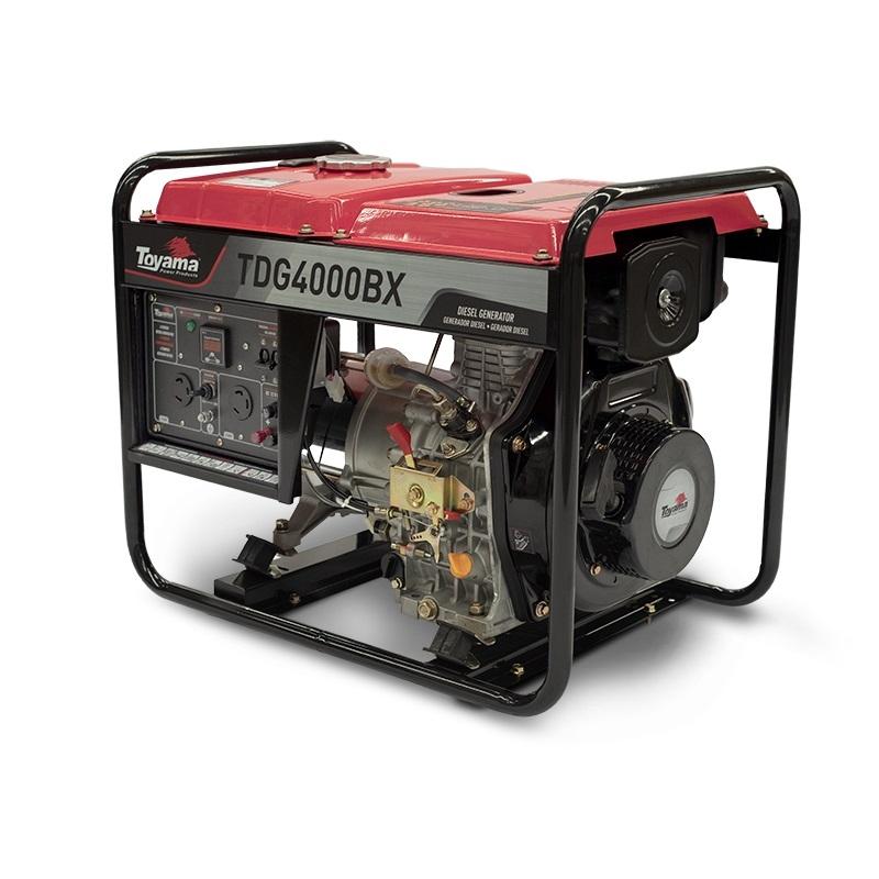 Gerador diesel TOYAMA TDG4000BX 3,3 Kva - Hs Floresta e Jardim