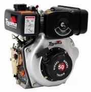"""Motor Toyama 4.7HP diesel eixo 3/4""""TD50FE c/ partida elétrica"""