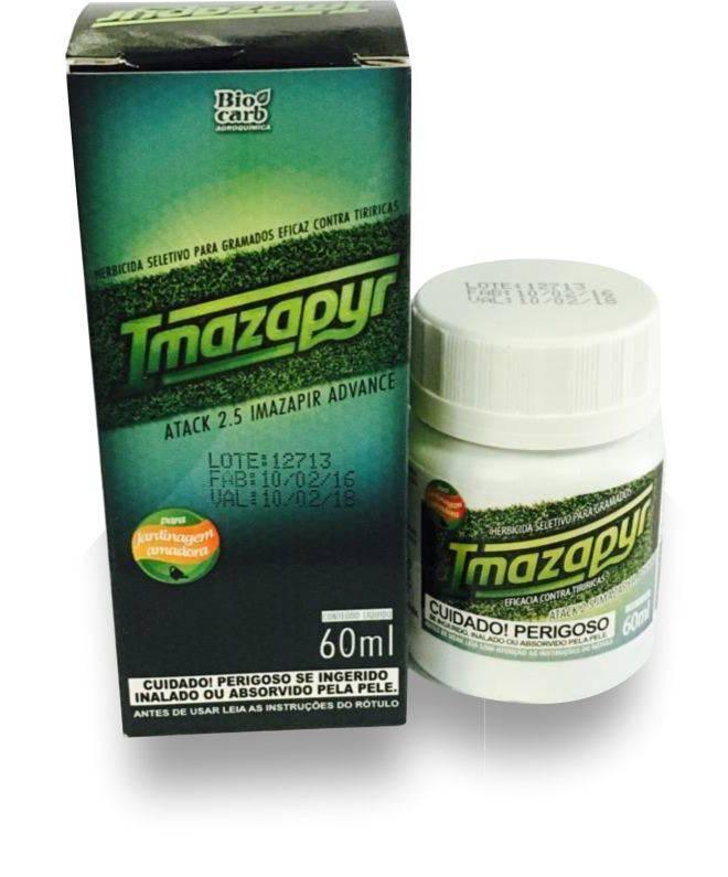 Imazapyr 60ml-Herbicida seletivo mata apenas as 'tiriricas'