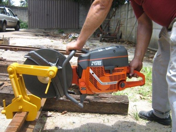 Cortador abrasivo HUSQVARNA K1270 Rail - Hs Floresta e Jardim