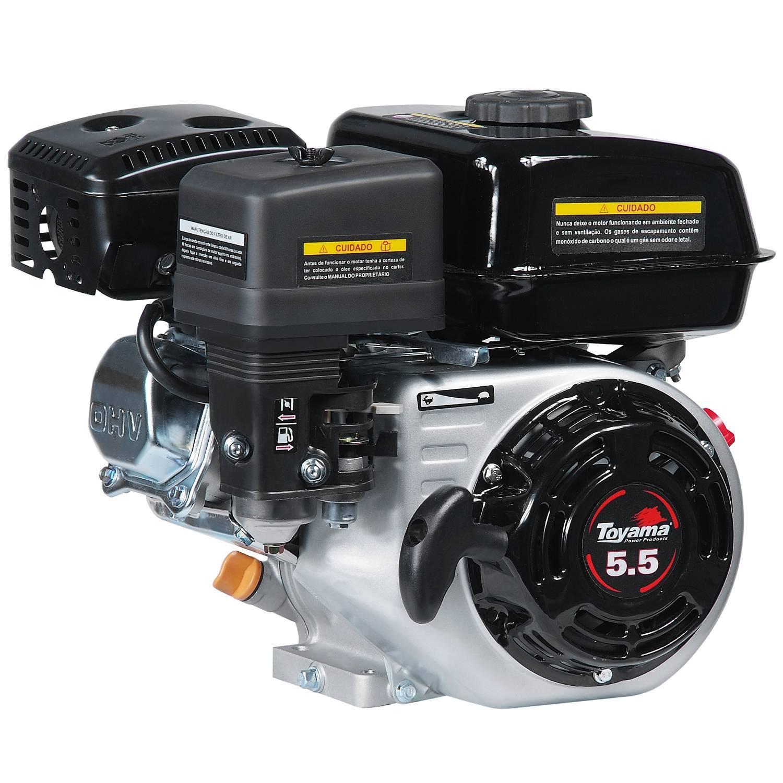 Motor TOYAMA 5,5HP 4T eixo 3/4