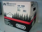 """OREGON 73DX 820dentes 3/8"""" 0,58"""" 1,5mm semi-quadrado (Husqvarna e outras)"""