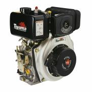 "Motor Toyama 6,7HP diesel eixo 1"" TD70F"