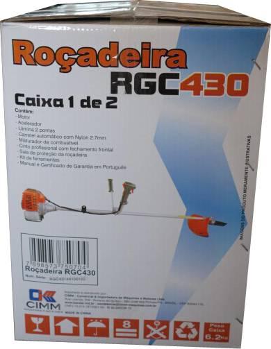 Roçadeira Bandai RGC430F 43cc - Hs Floresta e Jardim