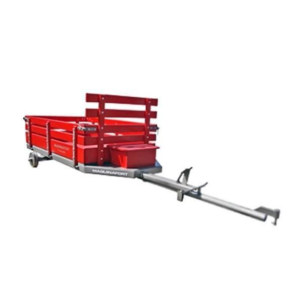 Carreta p/ Motocultivador até 600kg p/ Toyama TDT110 S/ Pneu - Hs Floresta e Jardim