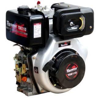 Motor Toyama 10HP diesel c/ partida elétrica eixo 1