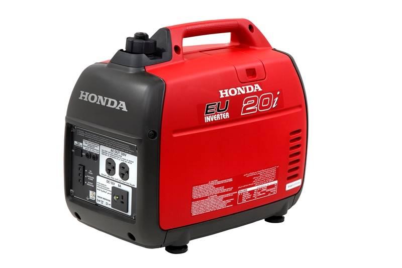 Gerador Honda EU20i Gasolina P. Manual 120v 2000W Monofásico - Hs Floresta e Jardim