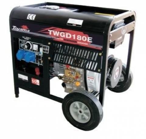 Gerador/Maquina de Solda diesel TOYAMA TWGD180E 11Hp 418cc