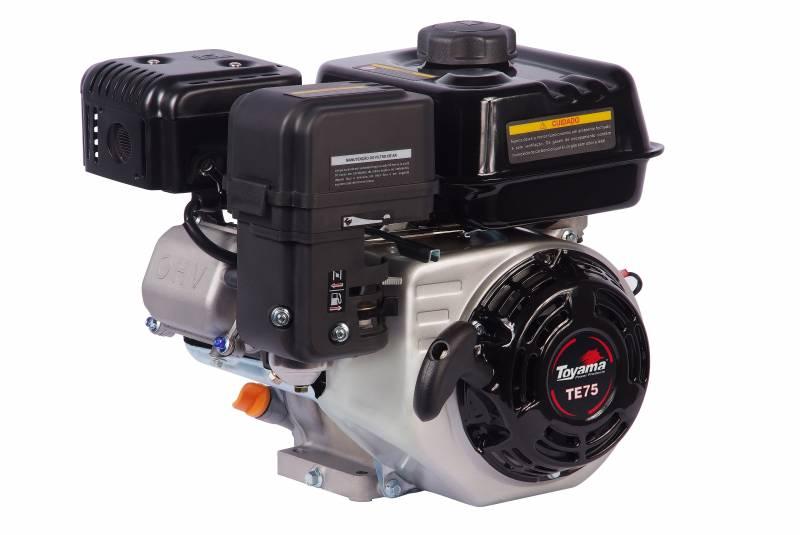 Motor TOYAMA TE75 7,5HP eixo 3/4' c/ sensor de óleo