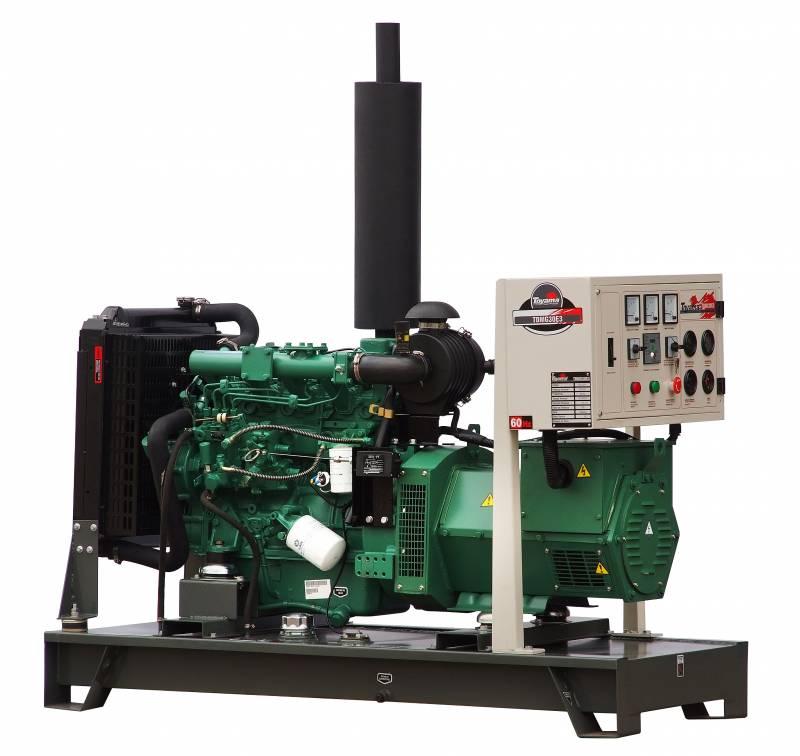 Gerador Toyama TDMG30E3 Diesel 30KVA 60Hz Trif. Ref. á água  - Hs Floresta e Jardim