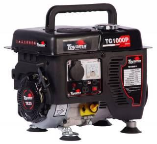 Gerador gasolina TOYAMA TG1000P 1000watts 110v 4tempos