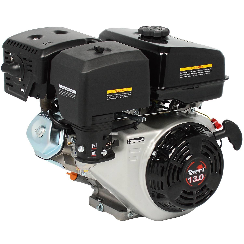 Motor TOYAMA 13HP c/ P.E. eixo 1' TF130FEX1