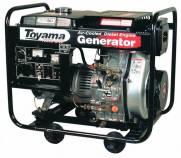 Gerador diesel TOYAMA TD6000CXE 5,5kva