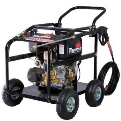 Lavadora de alta pressão diesel TOYAMA 3000psi HLD3600 - Hs Floresta e Jardim