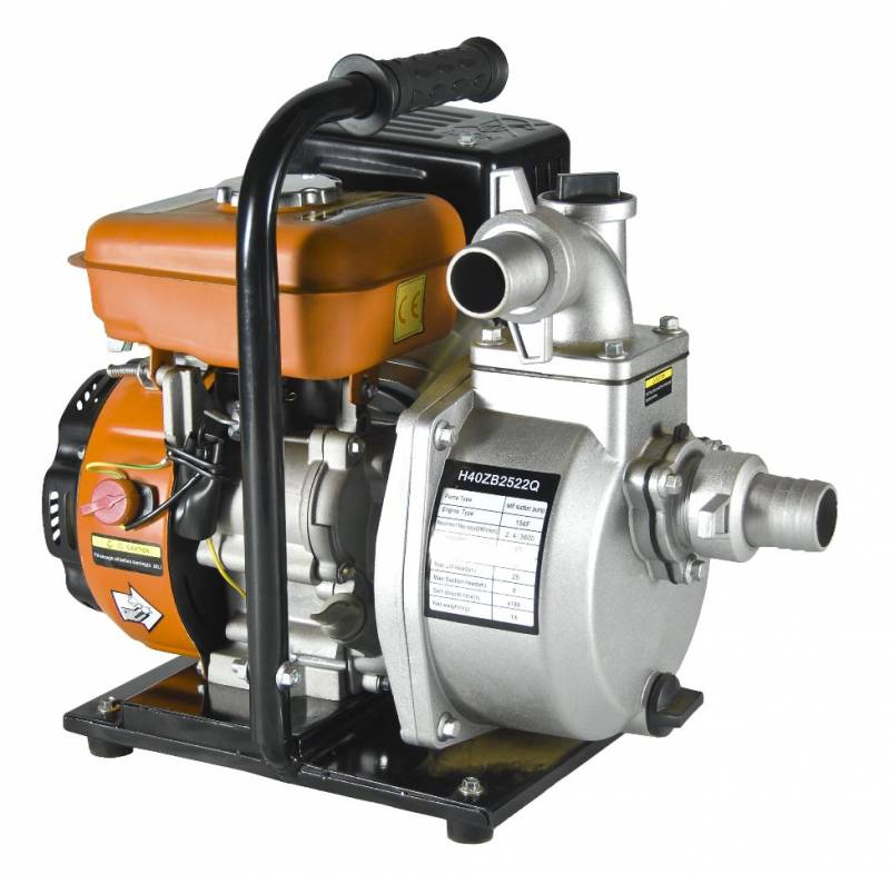Motobomba Bandai Autoescor. Gasolina 4T 2,8HP 1,5'x1,5' 98cc