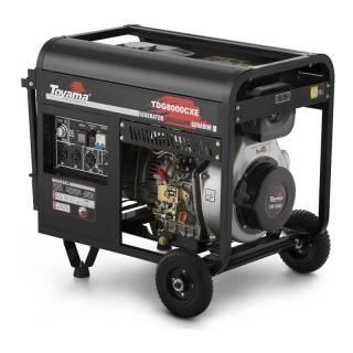 Gerador a Diesel Toyama TDG8000CXE3 Trif.380v  8,1kVA