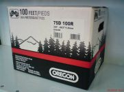 "OREGON 75DX 820dentes 3/8"" .063"" 1,6mm semi quadrado (Stihl)"