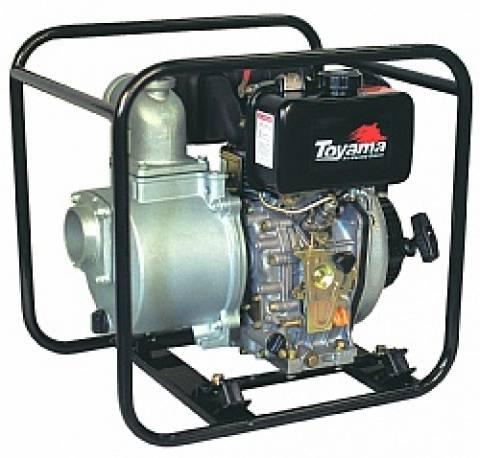 Motobomba TOYAMA diesel auto-escorvante TDAE3CN7 3
