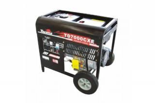 Gerador diesel TOYAMA TD7000CXE 6 Kva