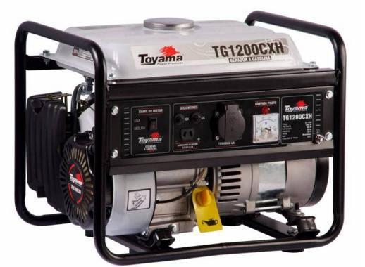 Gerador gasolina TOYAMA TG1200CXH 1000 watts - 220v - Hs Floresta e Jardim