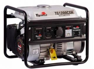 Gerador gasolina TOYAMA TG1200CXH 1000 watts - 220v