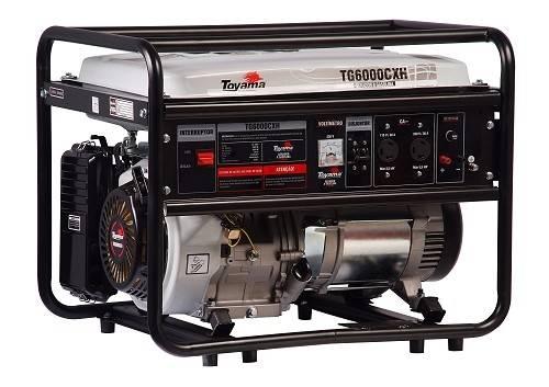 Gerador gasolina TOYAMA TG6000CXH 5,5 Kva 110/220v