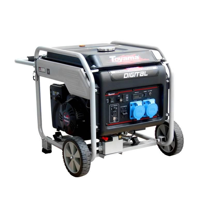 Gerador Toyama TG9000l Portátil 220V 8,75 Kva P. Elétrica  - Hs Floresta e Jardim