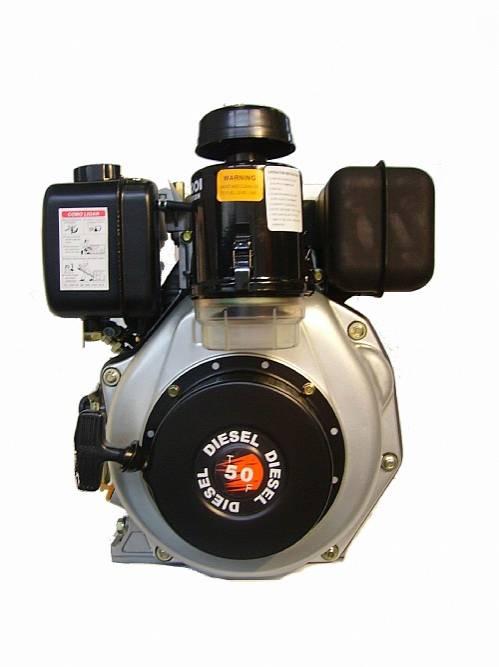 Motor TOYAMA 4.7HP diesel eixo 3/4' TD50FO  Equipamento com