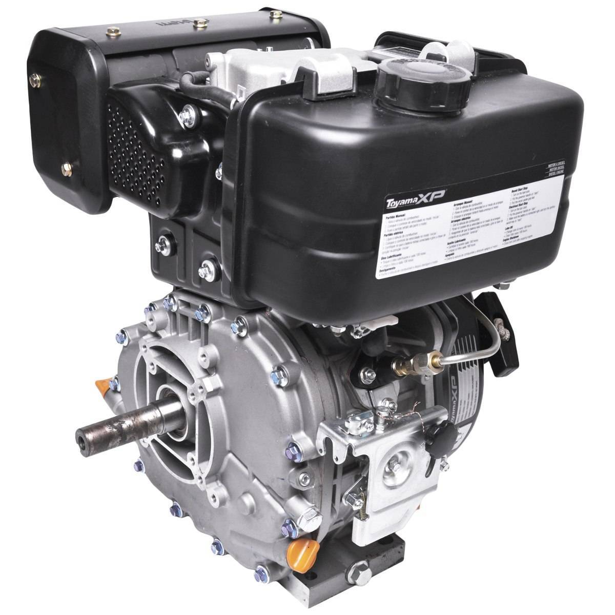 Motor TOYAMA 11 HP diesel eixo 1
