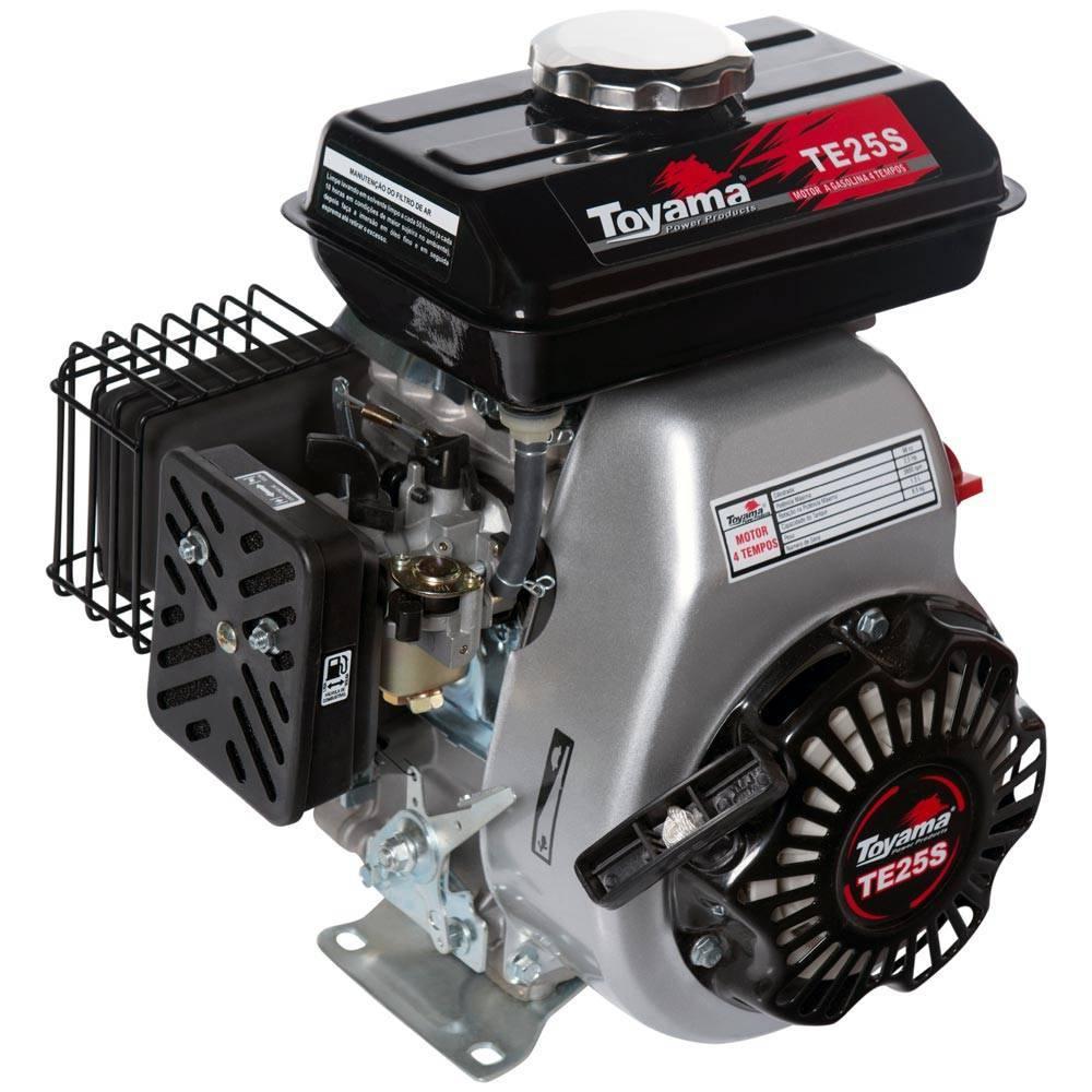 Motor Toyama TE25S 2,5HP 4 Tempos - Hs Floresta e Jardim