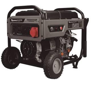 Gerador a Diesel TDG8000EXP Monofásico 6Kva 127/220v Toyama