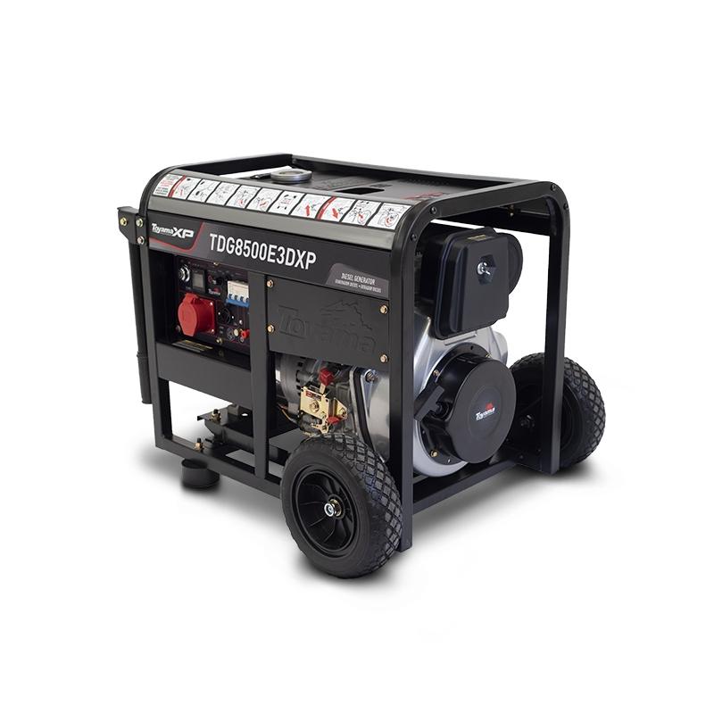 Gerador a Diesel TDG8500E3DXP Trifásico 220V 7,5 KVA Toyama  - Hs Floresta e Jardim
