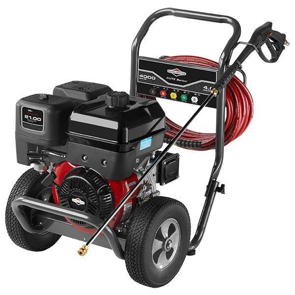 Lavadora alta Pressão Briggs à gasolina Elite 4000PSI 13,5HP - Hs Floresta e Jardim
