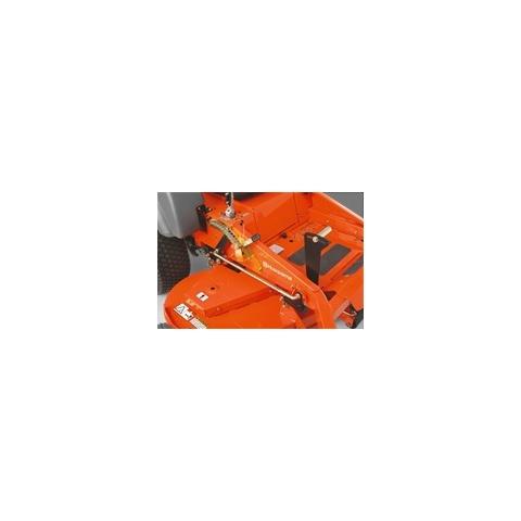 Trator giro-zero HUSQVARNA MZ48 produtividade máx. 10.000 m2 - Hs Floresta e Jardim
