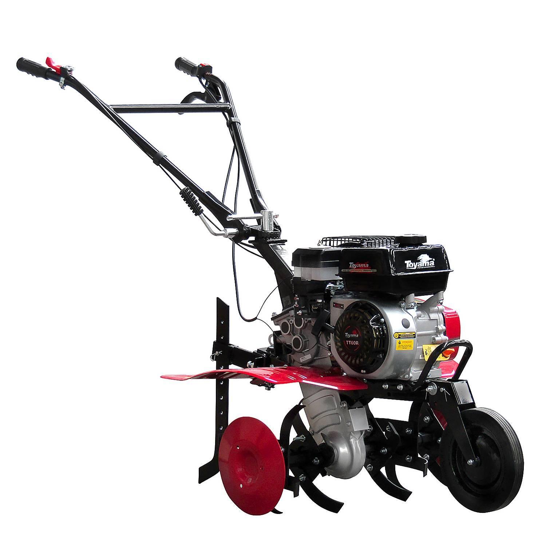 Motocultivador Gasolina TT60R Guidão Rotacional 196Cc Toyama - Hs Floresta e Jardim