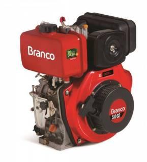 Motor diesel BD-5.0 G2 c/ 5.0 cv P. Elétrica 3600 rpm Branco