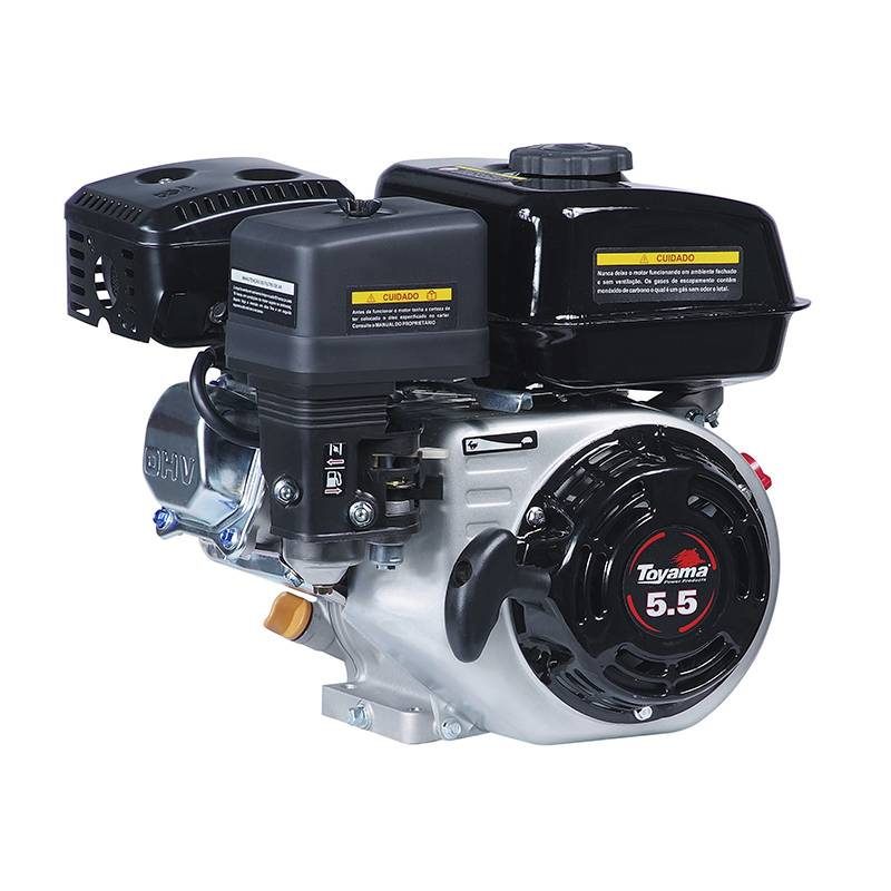 Motor Gasolina TF55FOX1 163Cc p. manual ou elétrica Toyama - Hs Floresta e Jardim
