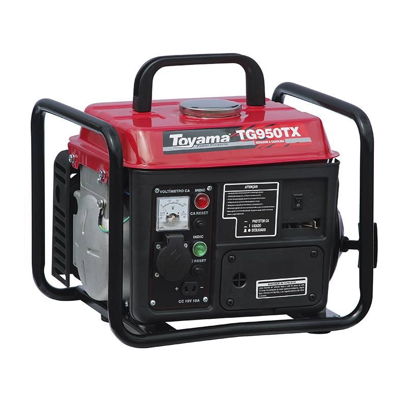 Gerador a Gasolina TG950TX1 127V 3600 RPM P. Manual Toyama - Hs Floresta e Jardim