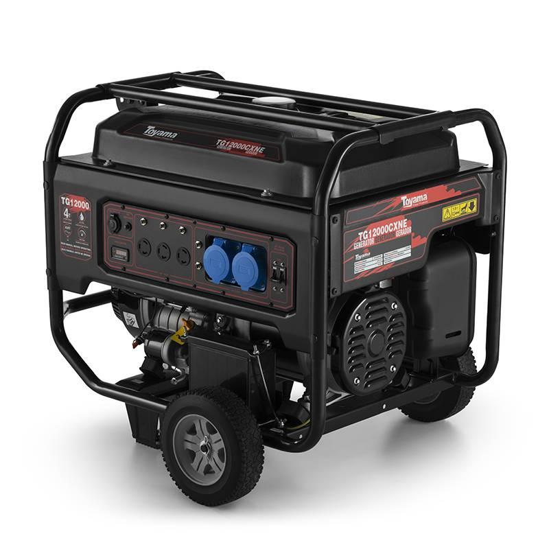 Gerador gasolina TG12000CXNE 10.05 KVA P. elétrica toyama - Hs Floresta e Jardim