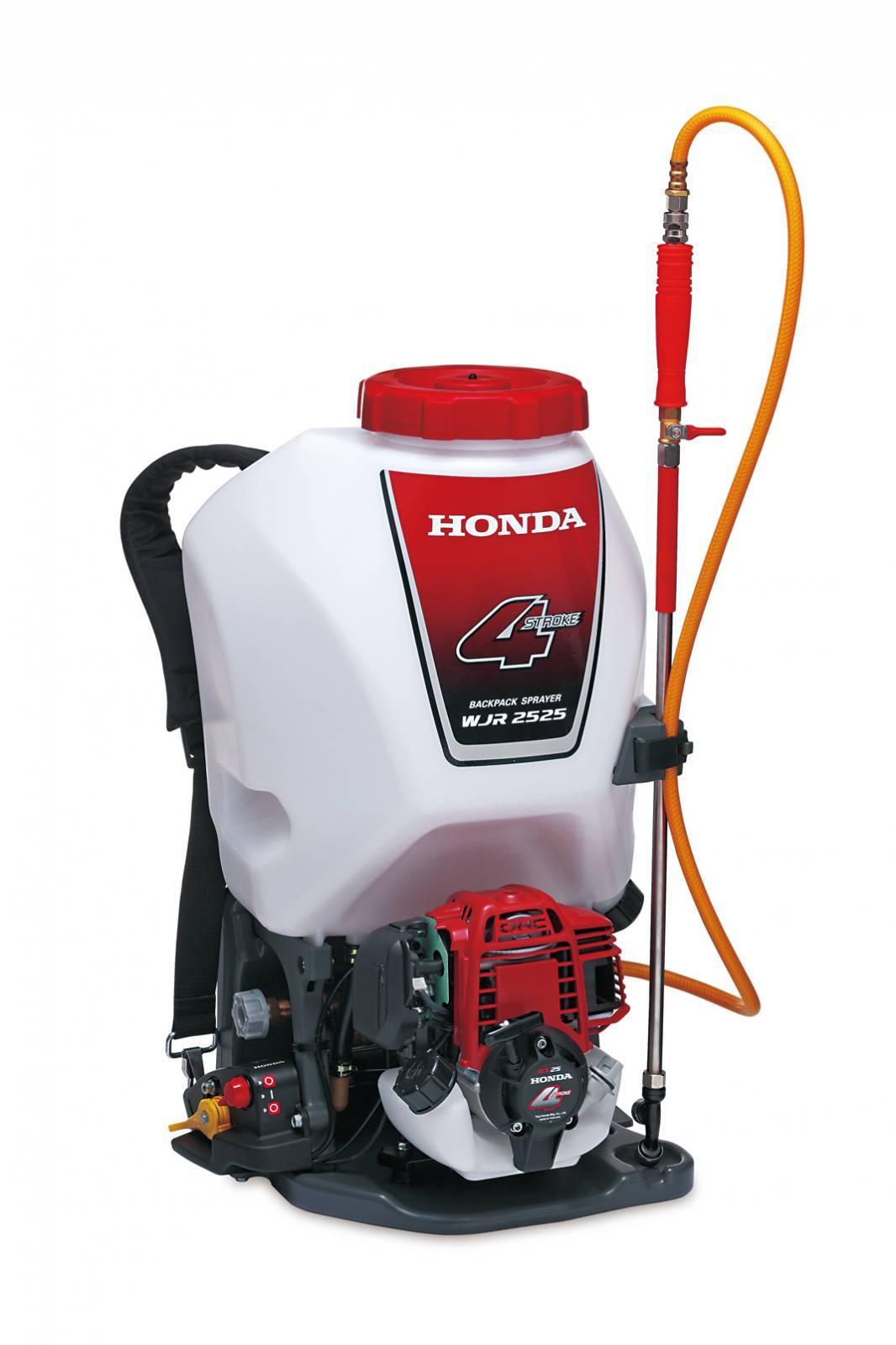 Pulverizador Costal Honda WJR 2525T a Gasolina 4T 7000rpm  - Hs Floresta e Jardim