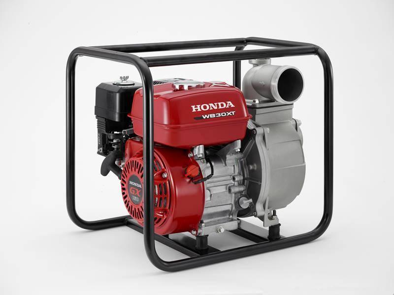 Motobomba Honda WB30XH Gasolina auto escorvante 3