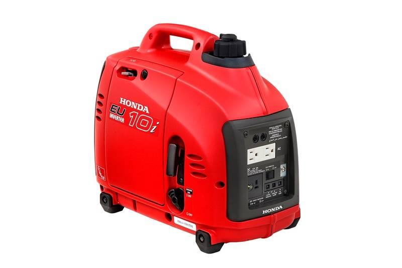 Gerador Honda EU10i Gasolina P. Manual 120v 1000W Monofásico - Hs Floresta e Jardim