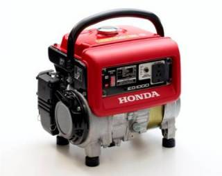 Gerador HONDA EG1000 gasolina 120V P Manual 1000W Monofásico