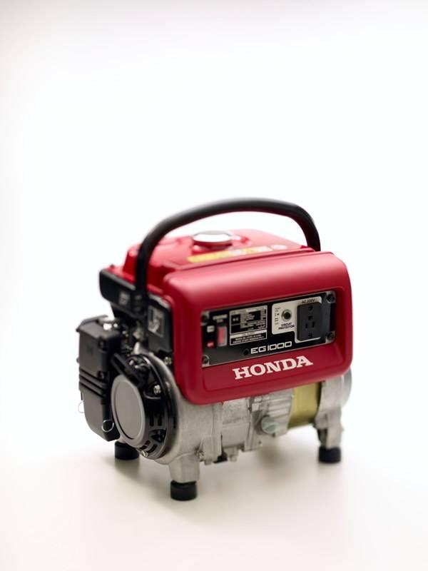 Gerador HONDA EG1000 gasolina 120V P Manual 1000W, EM OFERTA - Hs Floresta e Jardim
