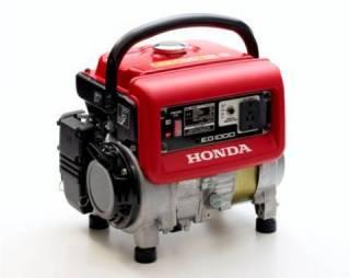 Gerador HONDA EG1000 gasolina 220V P Manual 1000W Monofásico