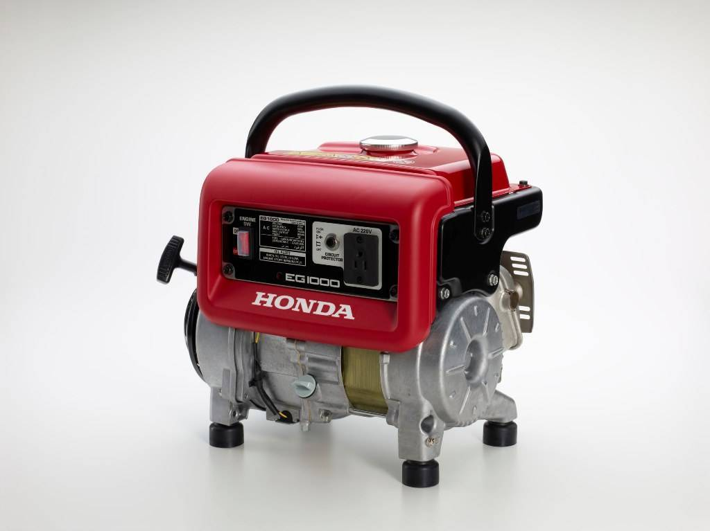 Gerador HONDA EG1000 gasolina 220V P Manual 1000W, EM OFERTA - Hs Floresta e Jardim